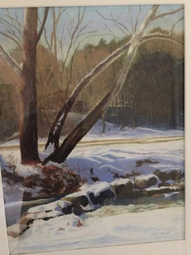 Winter at Difficult Run — Mary Jane McKee