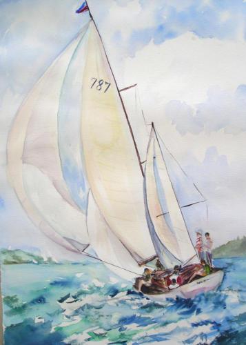 Sunday Sailors — Marija Lasalde