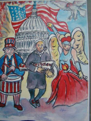 USA Forth of July — William Huffman