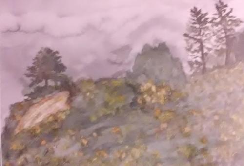 Hillside Blues  — Mary Louise  Fackler