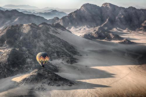 Ballooning Over Africa — Richard Isaacman