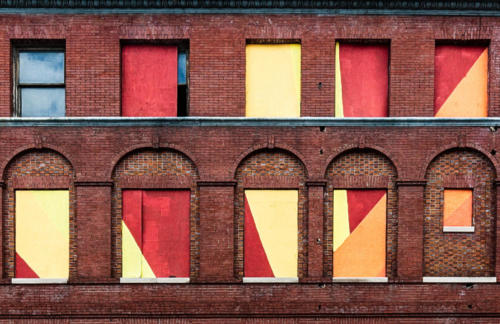 Boarded Up Windows - Baltimore — Vella Kendall