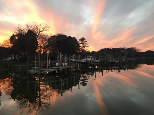 St Georges sunset — Jamie Baggstrom