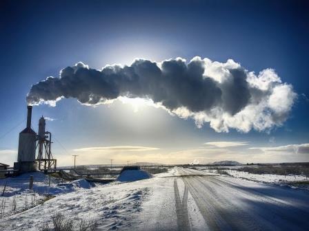 Steam Farm ( Was captured in Iceland)  — Monica Fiszman