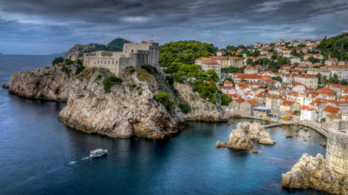 Lovrijenac Fortress from the Dubrovnik Wall — Philip Kanter