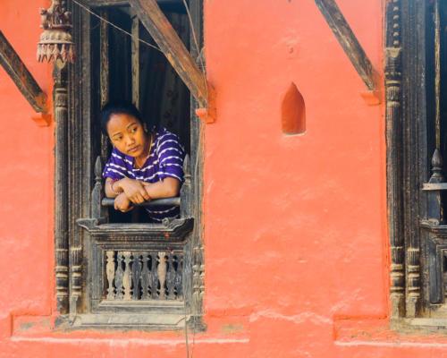 """""""Reflection""""  Tansen, Nepal — Nancy Benco"""