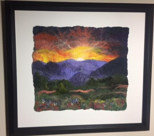 Purple Mountains Majesty - Sharon Lee Weinstein - Honorable Mention