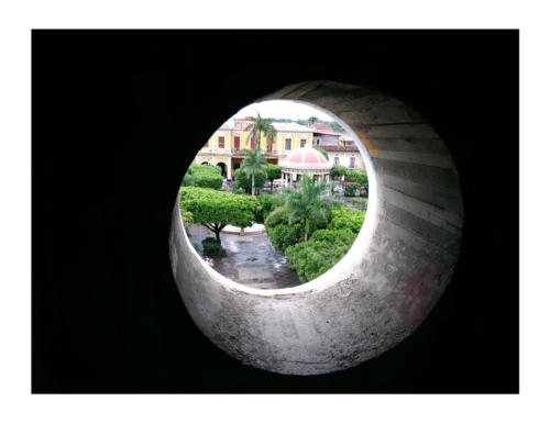 """""""Birdseye View"""" of Granada in Nicaragua - Margaret Ann Chambers - Honorable Mention"""
